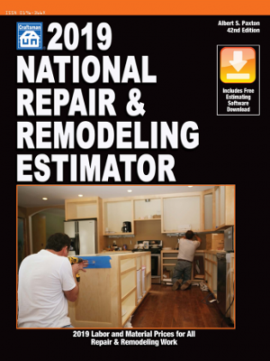 2019 National Repair & Remodeling Estimator