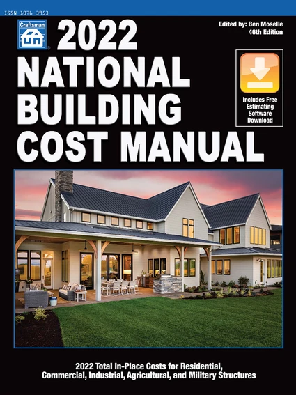 2022 National Building Cost Manual