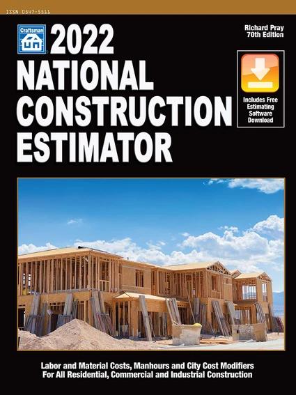 2022 National Construction Estimator