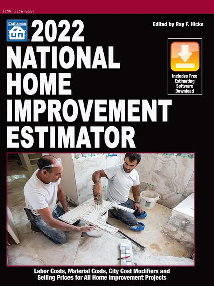 2022 National Home Improvement Estimator
