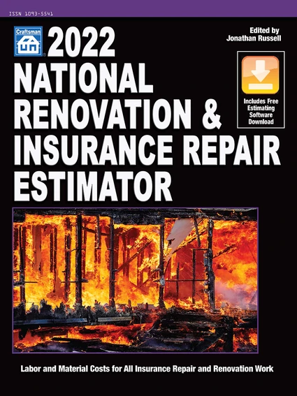 2022 National Renovation & Insurance Repair Estimator