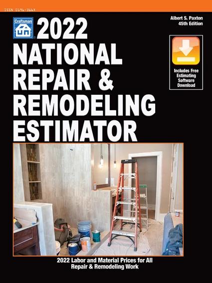 2022 National Repair & Remodeling Estimator