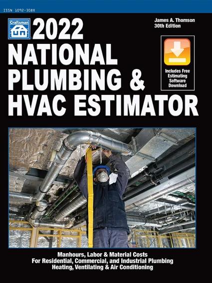 2022 National Plumbing & HVAC Estimator