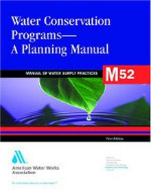 AWWA M52 - Water Conservation Programs: A Planning Manual