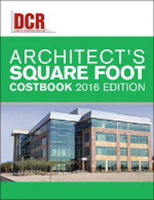 DCR Architect's Square Foot Costbook 2016