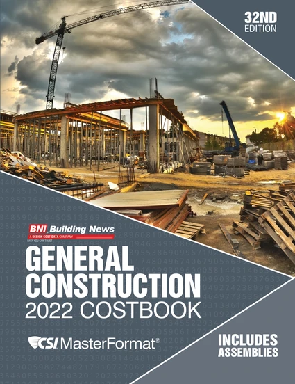 BNi General Construction Costbook 2022 Edition - with Assemblies