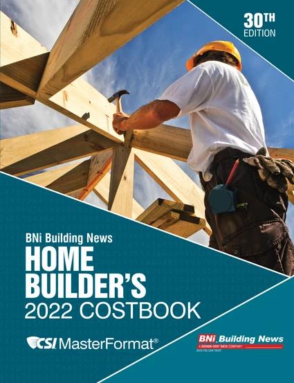 BNI Home Builders Costbook 2022