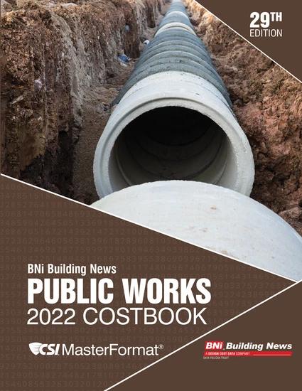 BNI Public Works Costbook 2022