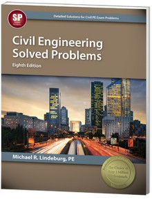 Civil Engineering Solved Problems, 8th Edition
