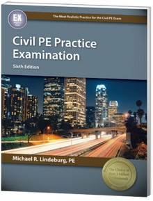 Civil PE Practice Examination, 6th Edition