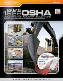 OSHA 1926 Construction Industry Regulations (Title 29 CFR), January 2015 Edition