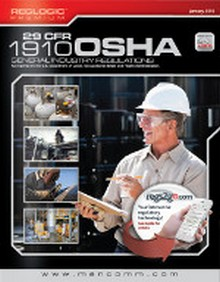 29 CFR OSHA 1910 General Industry Regulations, January 2016 Edition