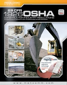 OSHA 1926 Construction Industry Regulations (Title 29 CFR), January 2016 Edition