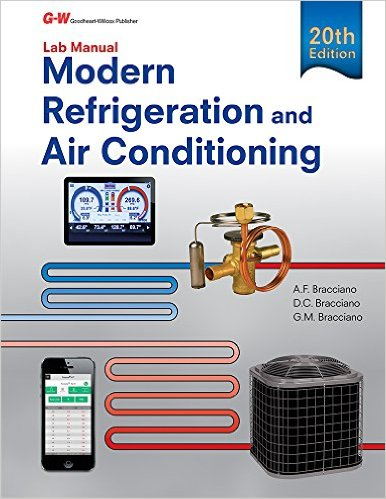 Modern Refrigeration & Air Conditioning Lab Manual, 20th Edition