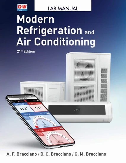 Modern Refrigeration & Air Conditioning Lab Manual, 21st Edition