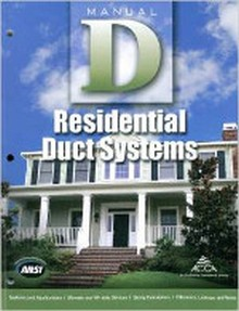 ACCA - Manual D - Residential Duct Systems 3rd Edition - 2014