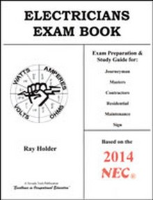 Electrician's Exam Book, 2014 Edition