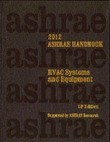 ASHRAE Handbook - HVAC Systems & Equipment 2012 (I-P) with CD-Rom in both I-P and SI versions