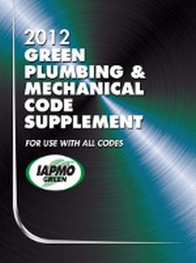 2012 Green Plumbing & Mechanical Code Supplement