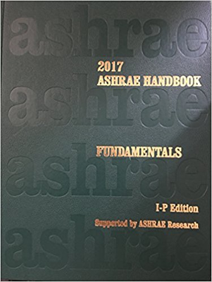 2017 ASHRAE Handbook of Fundamentals, I-P Edition