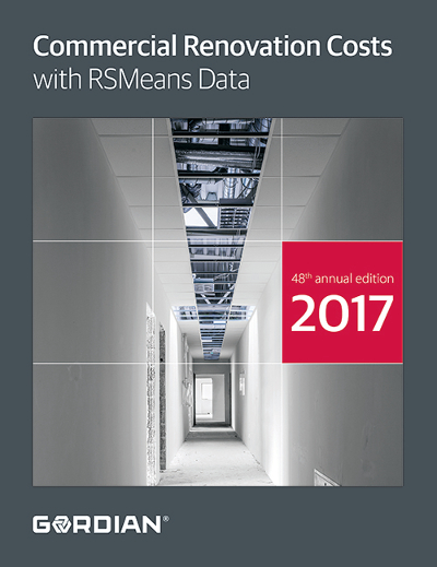 2017 RSMeans Commercial Renovation Cost Data