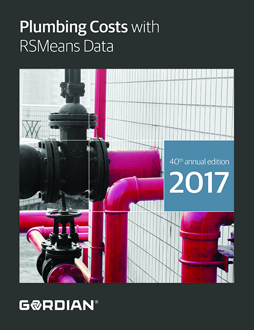 2017 RSMeans Plumbing Cost Data