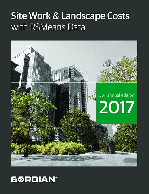 2017 RSMeans Site Work & Landscape Cost Data