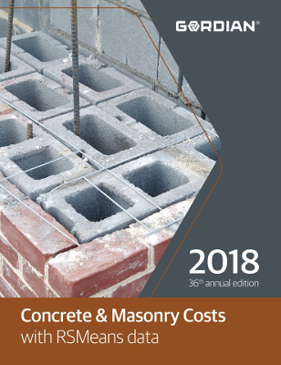 2018 RSMeans Concrete & Masonry Cost Data