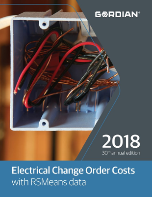 2018 RSMeans Electrical Change Order Cost Data
