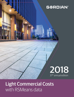 2018 RSMeans Light Commercial Cost Data