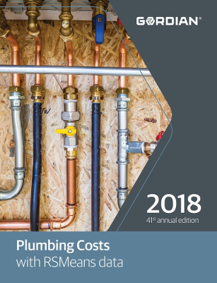 2018 RSMeans Plumbing Cost Data