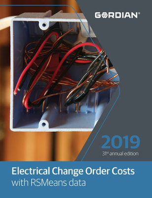 2019 RSMeans Electrical Change Order Cost Data