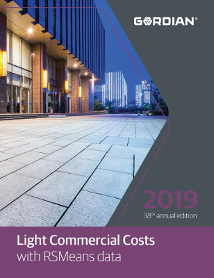 2019 RSMeans Light Commercial Cost Data