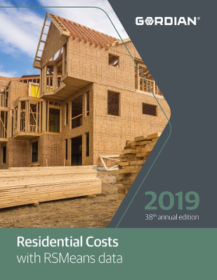 2019 RSMeans Residential Cost Data