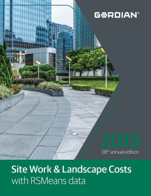 2019 RSMeans Site Work & Landscape Cost Data