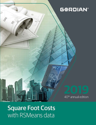 2019 RSMeans Square Foot Cost Data