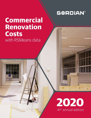 2020 RSMeans Commercial Renovation Cost Data