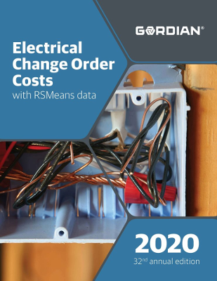 2020 RSMeans Electrical Change Order Cost Data
