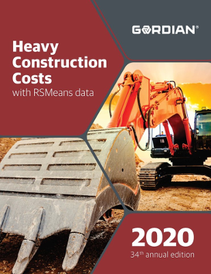 2020 RSMeans Heavy Construction Cost Data