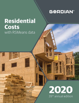 2020 RSMeans Residential Cost Data