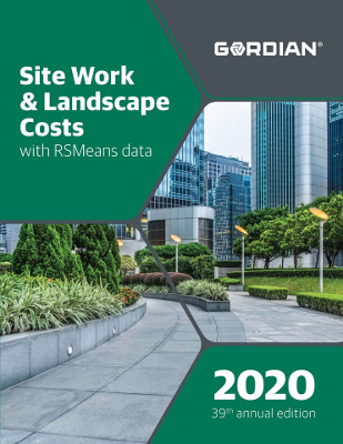 2020 RSMeans Site Work & Landscape Cost Data