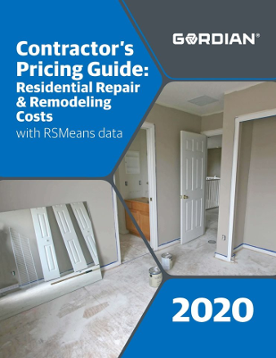 2020 Contractor's Pricing Guide: RSMeans Residential Repair & Remodeling Costs
