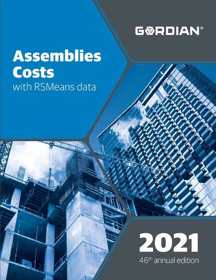 RS Means Assemblies Costs 2021