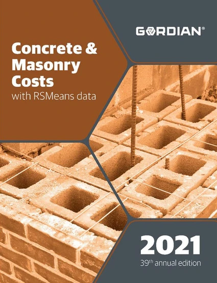 RS Means Concrete & Masonry Costs 2021