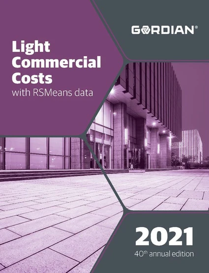 RS Means Light Commercial Costs 2021