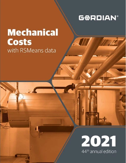 RS Means Mechanical Costs 2021