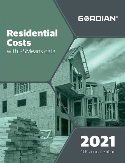 RS Means Residential Costs 2021