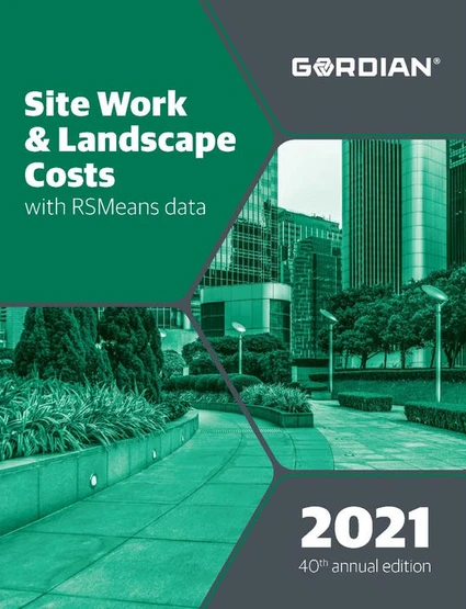 RS Means Site Work & Landscape Costs Data 2021