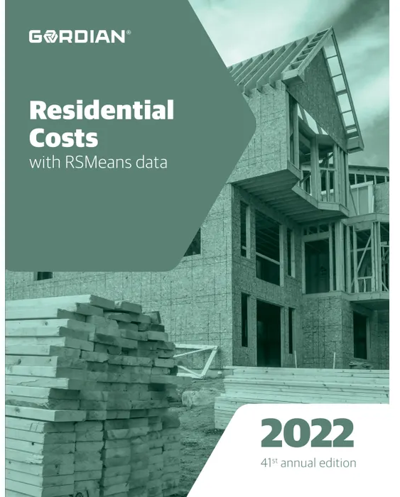 RS Means Residential Costs 2022