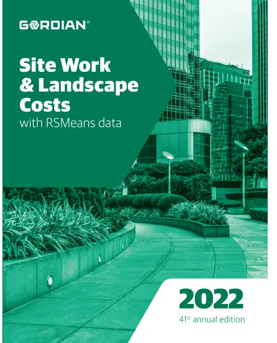 RS Means Site Work & Landscape Costs Data 2022